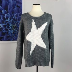 Aeropostale Intarsia Star Sweater